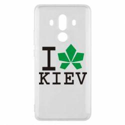 Чехол для Huawei Mate 10 Pro I love Kiev - с листиком - FatLine