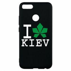 Чехол для Xiaomi Mi A1 I love Kiev - с листиком - FatLine