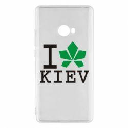 Чехол для Xiaomi Mi Note 2 I love Kiev - с листиком - FatLine