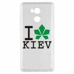 Чехол для Xiaomi Redmi 4 Pro/Prime I love Kiev - с листиком - FatLine