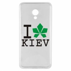 Чехол для Meizu M5 I love Kiev - с листиком - FatLine