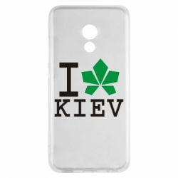 Чехол для Meizu Pro 6 I love Kiev - с листиком - FatLine