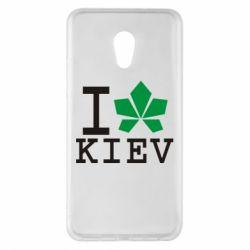 Чехол для Meizu Pro 6 Plus I love Kiev - с листиком - FatLine