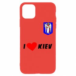 Чохол для iPhone 11 I love Kiev