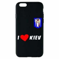 Чохол для iPhone 6/6S I love Kiev