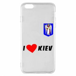 Чохол для iPhone 6 Plus/6S Plus I love Kiev