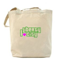 Сумка I love Liberty City - FatLine