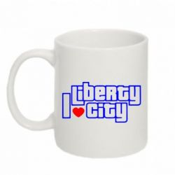 Кружка 320ml I love Liberty City - FatLine