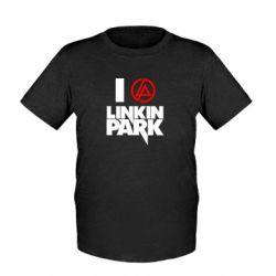Детская футболка I love Linkin Park - FatLine