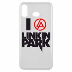 Чехол для Samsung A6s I love Linkin Park