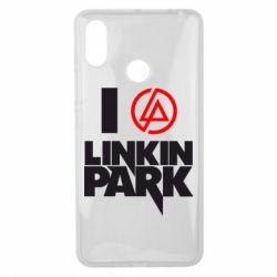 Чехол для Xiaomi Mi Max 3 I love Linkin Park