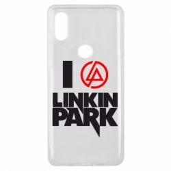 Чехол для Xiaomi Mi Mix 3 I love Linkin Park