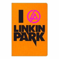 Блокнот А5 I love Linkin Park