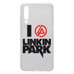 Чехол для Xiaomi Mi9 I love Linkin Park