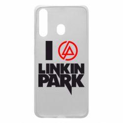 Чехол для Samsung A60 I love Linkin Park