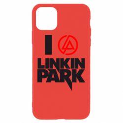 Чехол для iPhone 11 I love Linkin Park
