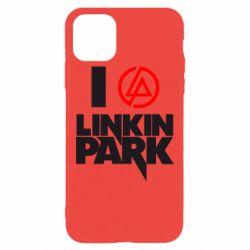 Чехол для iPhone 11 Pro Max I love Linkin Park