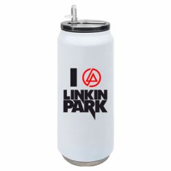 Термобанка 500ml I love Linkin Park