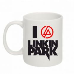 Купить Кружка 320ml I love Linkin Park, FatLine
