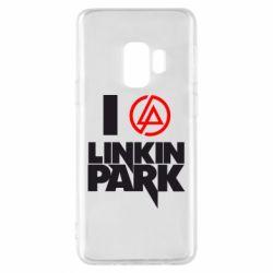 Чехол для Samsung S9 I love Linkin Park