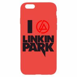 Чехол для iPhone 6/6S I love Linkin Park