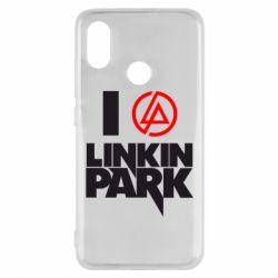 Чехол для Xiaomi Mi8 I love Linkin Park