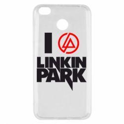 Чехол для Xiaomi Redmi 4x I love Linkin Park
