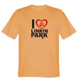 Мужская футболка I love LP - FatLine