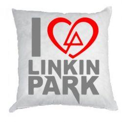 Подушка I love LP