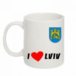Кружка 320ml I love Lviv