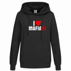 Женская толстовка I love Mafia 2