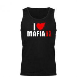 Мужская майка I love Mafia 2 - FatLine