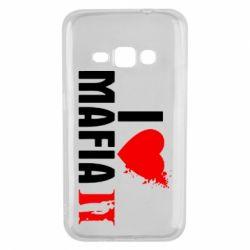 Чехол для Samsung J1 2016 I love Mafia 2