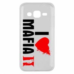 Чехол для Samsung J2 2015 I love Mafia 2