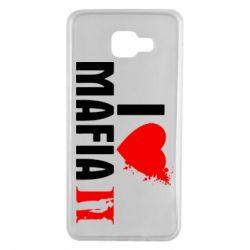 Чехол для Samsung A7 2016 I love Mafia 2