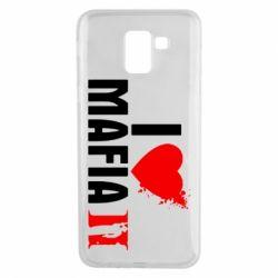 Чехол для Samsung J6 I love Mafia 2