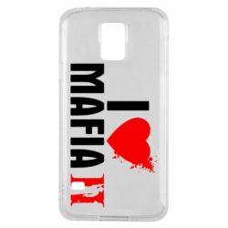 Чехол для Samsung S5 I love Mafia 2