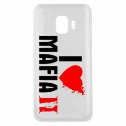 Чехол для Samsung J2 Core I love Mafia 2