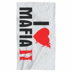 Полотенце I love Mafia 2