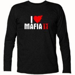 Футболка с длинным рукавом I love Mafia 2 - FatLine