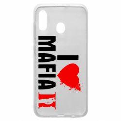 Чехол для Samsung A20 I love Mafia 2