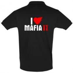 Футболка Поло I love Mafia 2 - FatLine
