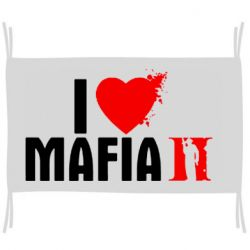 Прапор I love Mafia 2