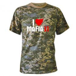 Камуфляжная футболка I love Mafia 2 - FatLine