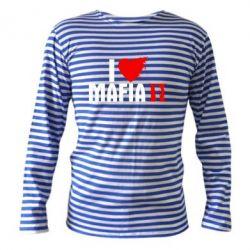 Тельняшка с длинным рукавом I love Mafia 2 - FatLine