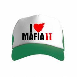 Дитяча кепка-тракер I love Mafia 2