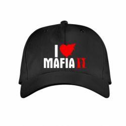 Детская кепка I love Mafia 2