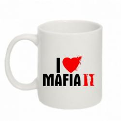 Кружка 320ml I love Mafia 2 - FatLine