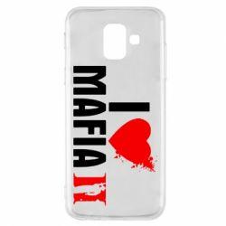 Чохол для Samsung A6 2018 I love Mafia 2