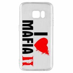 Чехол для Samsung S7 I love Mafia 2